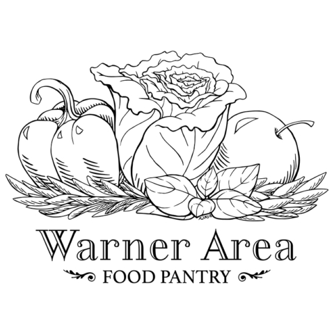 T-Shirt Design for the Warner Area Food Pantry