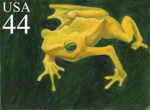 Stamp Frog